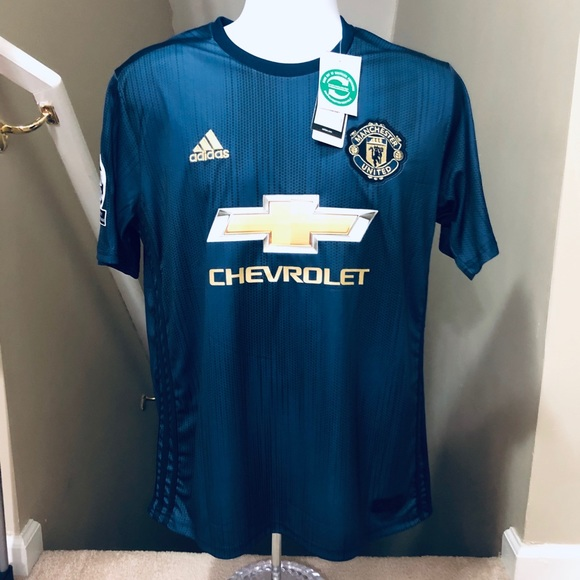 Lukaku 9 Soccer Jersey Manchester United Uefa Nwt